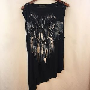Rock & Republic Tank Top XL Assymetrical Native